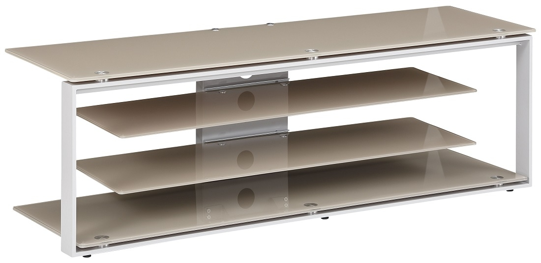 Tv-meubel Best 130 cm breed – Zand   Bermeo