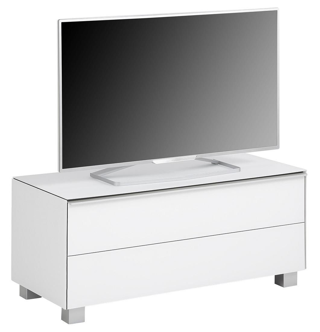 Tv-meubel Fristi 99 cm breed – Wit   Bermeo
