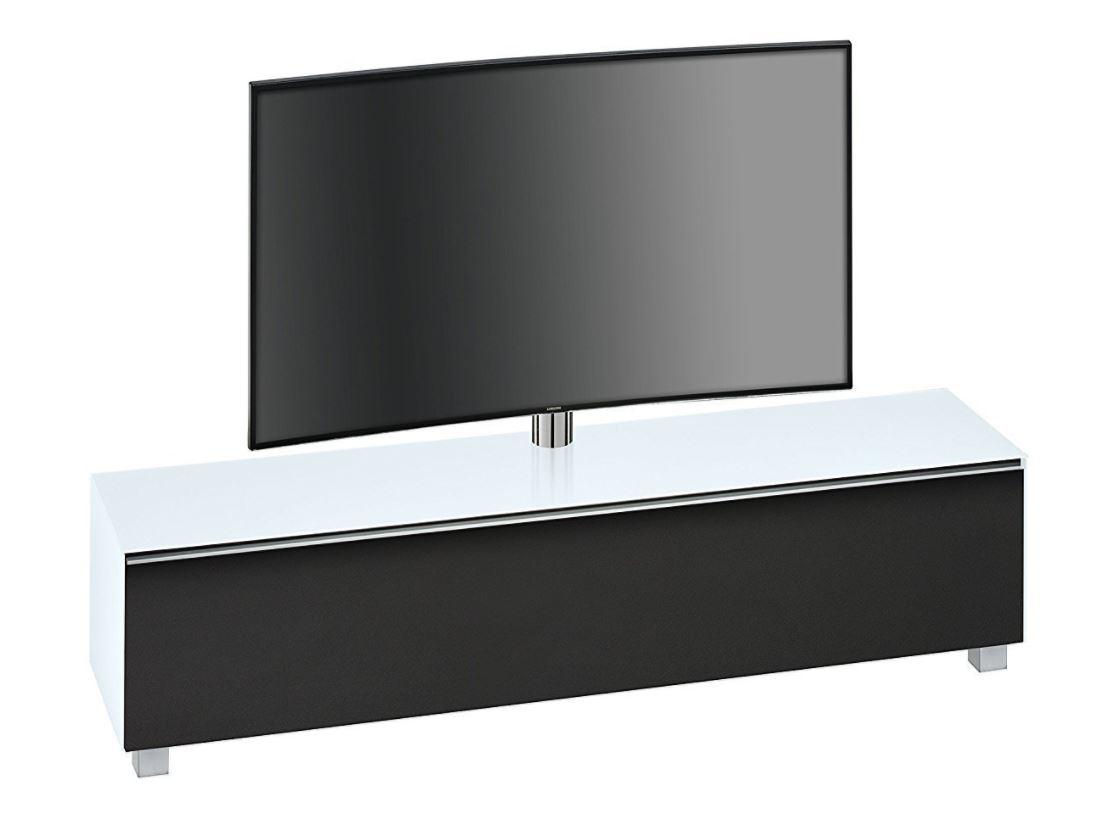 Tv-meubel Stick 180 cm breed – Wit   Bermeo