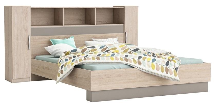 Tweepersoonsbed Andrea 140x190cm – Arizona eiken | Young Furniture