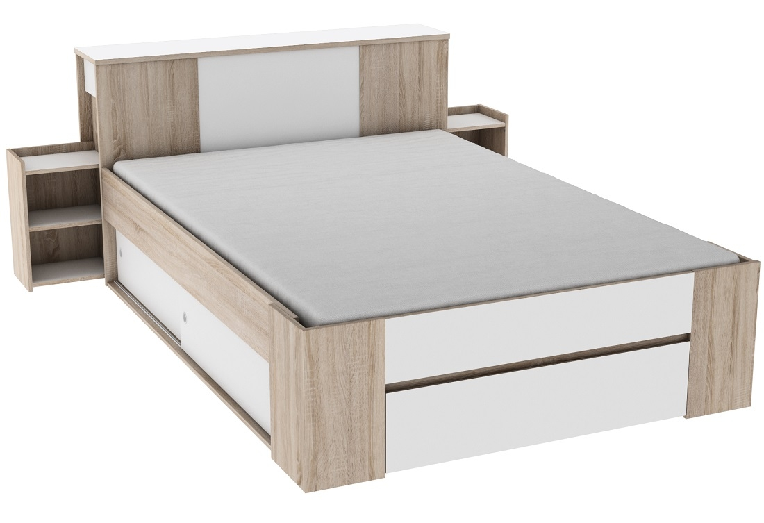 Tweepersoonsbed Sirius 140x200cm – ALL IN | Young Furniture