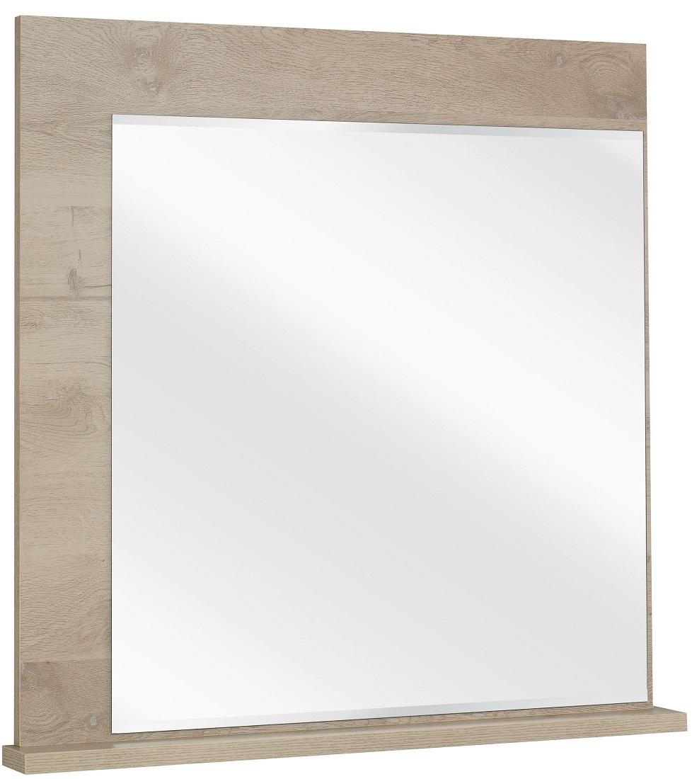 Wandspiegel Sarlat 93 cm hoog in donker eiken | Gamillo Furniture