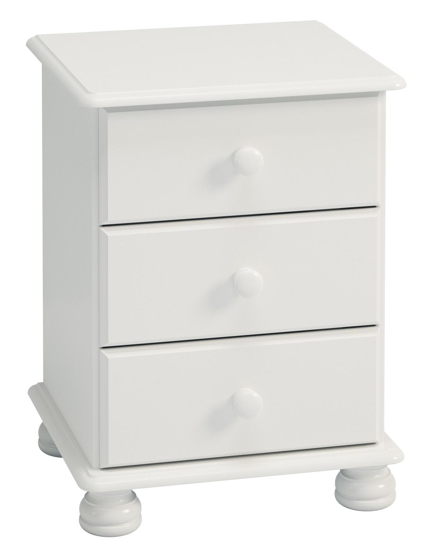 Nachtkastje Rich B 58 cm hoog in wit | DS Style