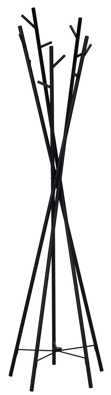 Staande kapstok Tower tree 180 cm hoog in zwart | Home Style