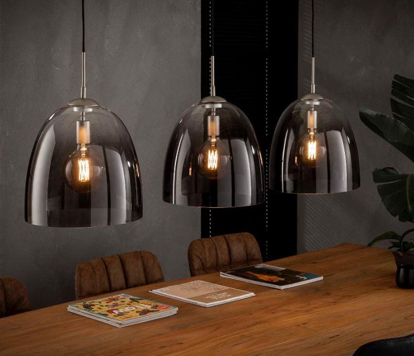 Hanglamp Shade 136 cm breed met 3xØ33 | Zaloni