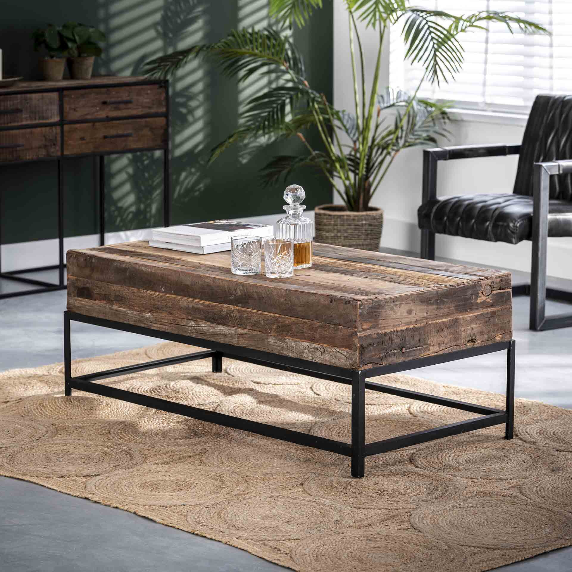 Salontafel 'Lodge' 120 x 60cm | LifestyleFurn