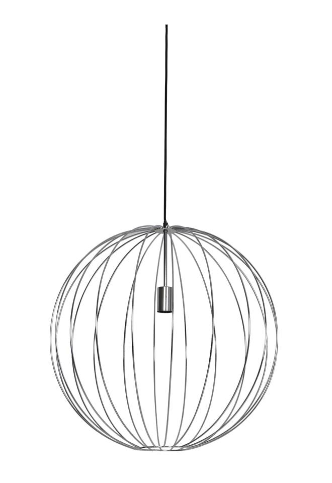 Light & Living Hanglamp 'Suden' 60cm, chroom   Light & Living