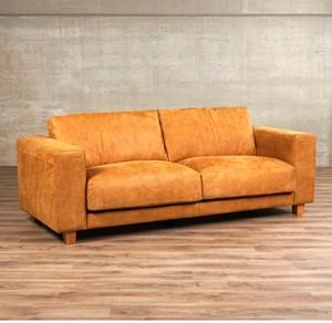 Leren bank clear 2 zits bruin zits bank bruin leer, bankstel bruine kleur | ShopX