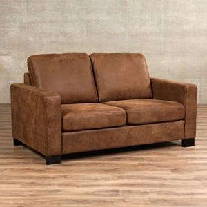 Leren bank energy 2 zits bruin zits bank bruin leer, bankstel bruine kleur | ShopX