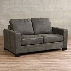 Leren bank energy 2 zits grijs zits bank grijs leer, bankstel grijze kleur | ShopX