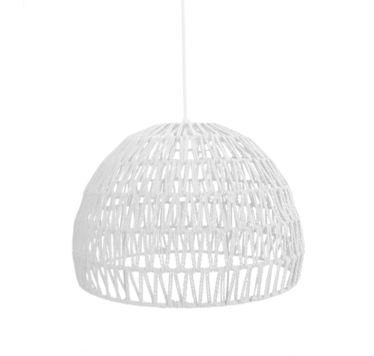 LABEL51 hanglamp 'Touw' small, kleur Wit | LABEL51