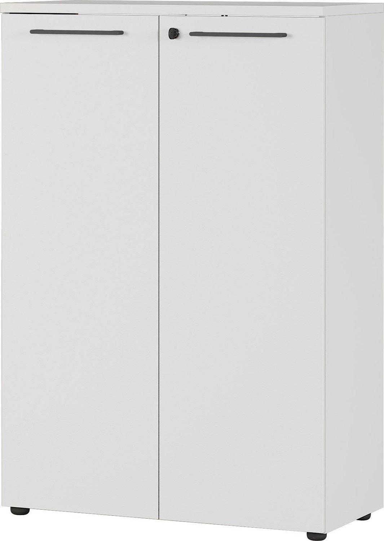 Archiefkast Agenda S 120 cm hoog in lichtgrijs | Germania