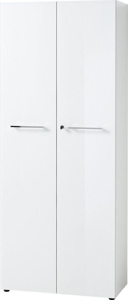 Archiefkast Monteria 197 cm hoog in wit | Germania
