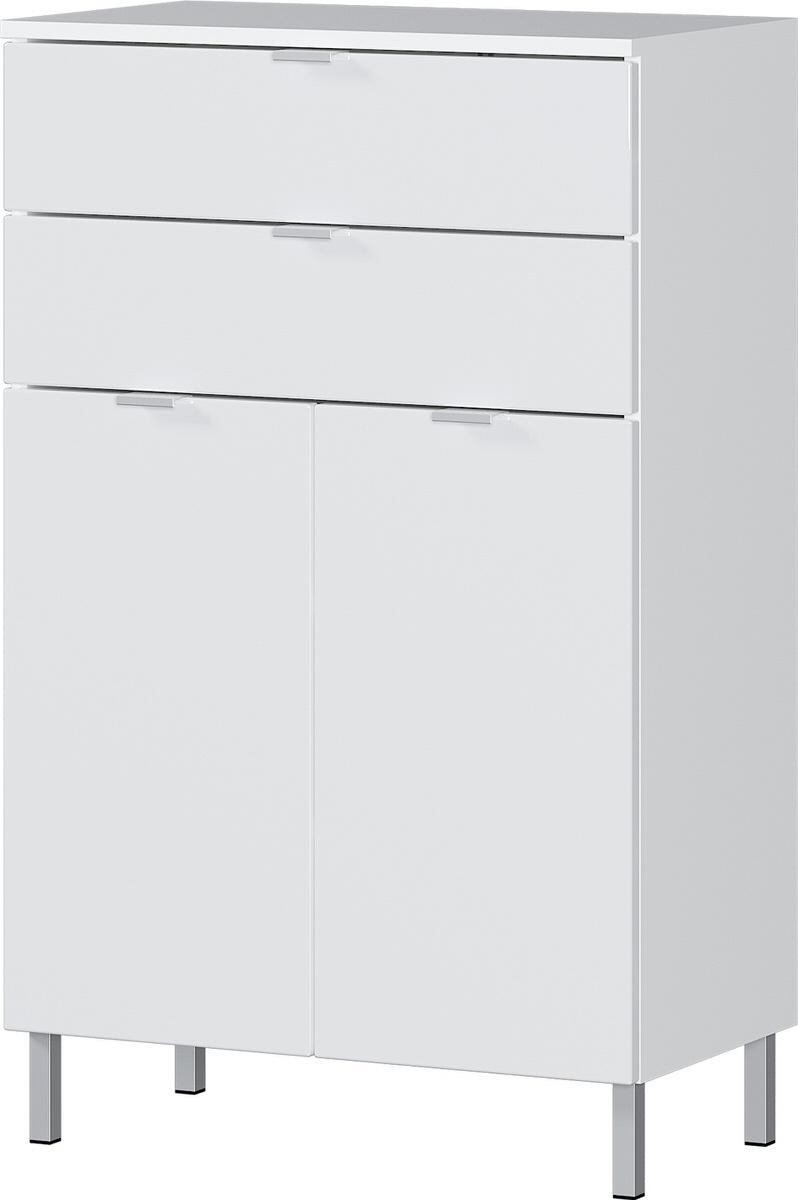 Badkamerkast Bruno 97 cm hoog in wit | Germania