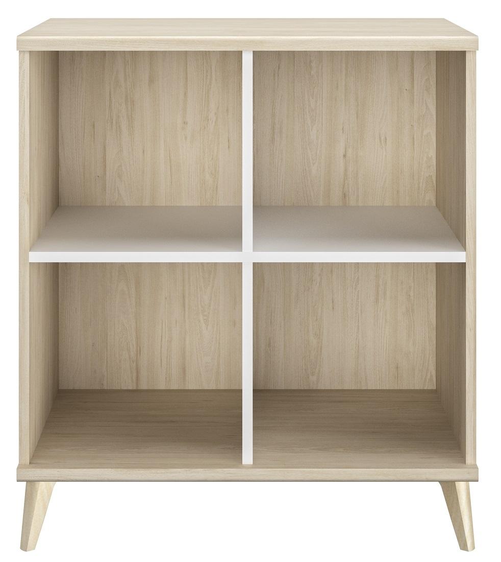 Boekenkast Artefact 90 cm hoog in eiken | Gamillo Furniture