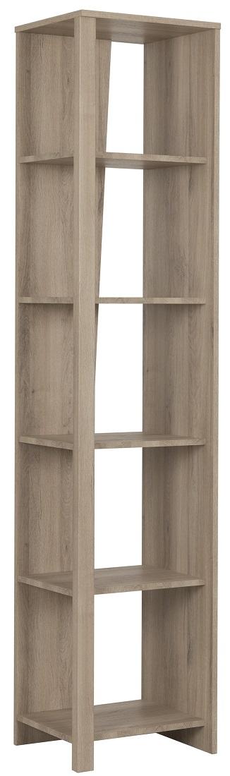 Boekenkast Ethan 199 cm hoog in kronberg eiken   Gamillo Furniture