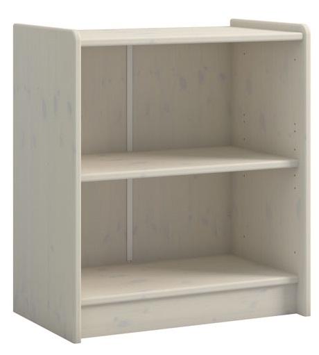 Boekenkast Kids 72 cm hoog in wit whitewash   DS Style