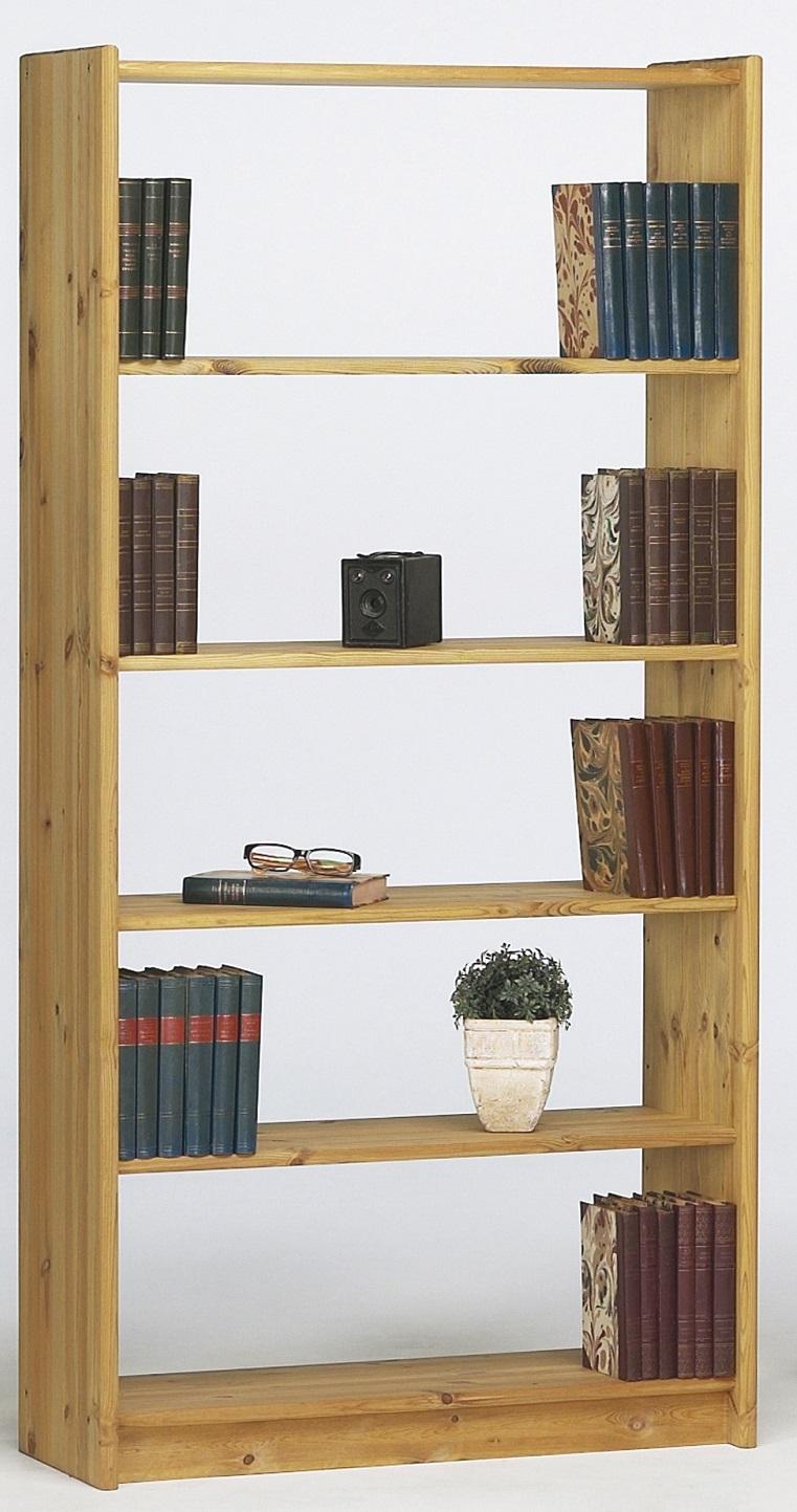 Boekenkast Mario M 170 cm hoog in geolied grenen | DS Style
