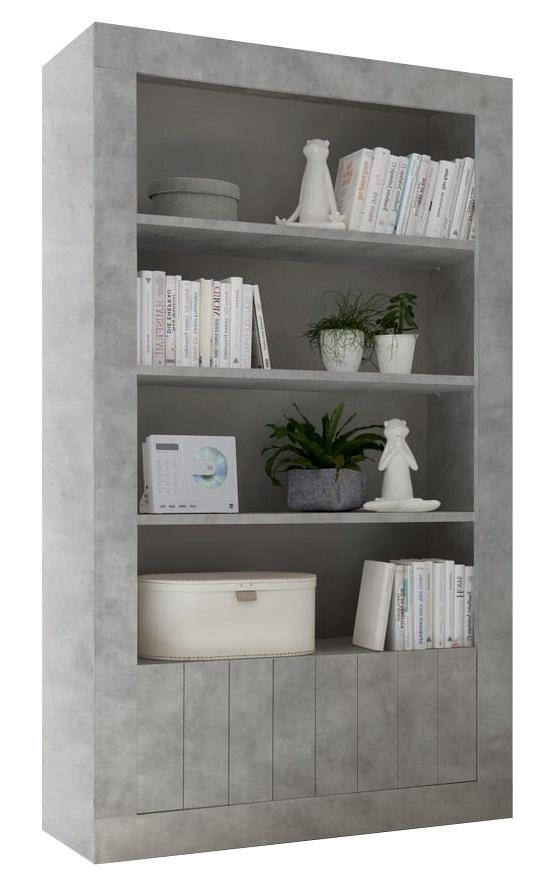 Buffetkast Urbino 190 cm hoog in grijs beton | Pesaro Mobilia