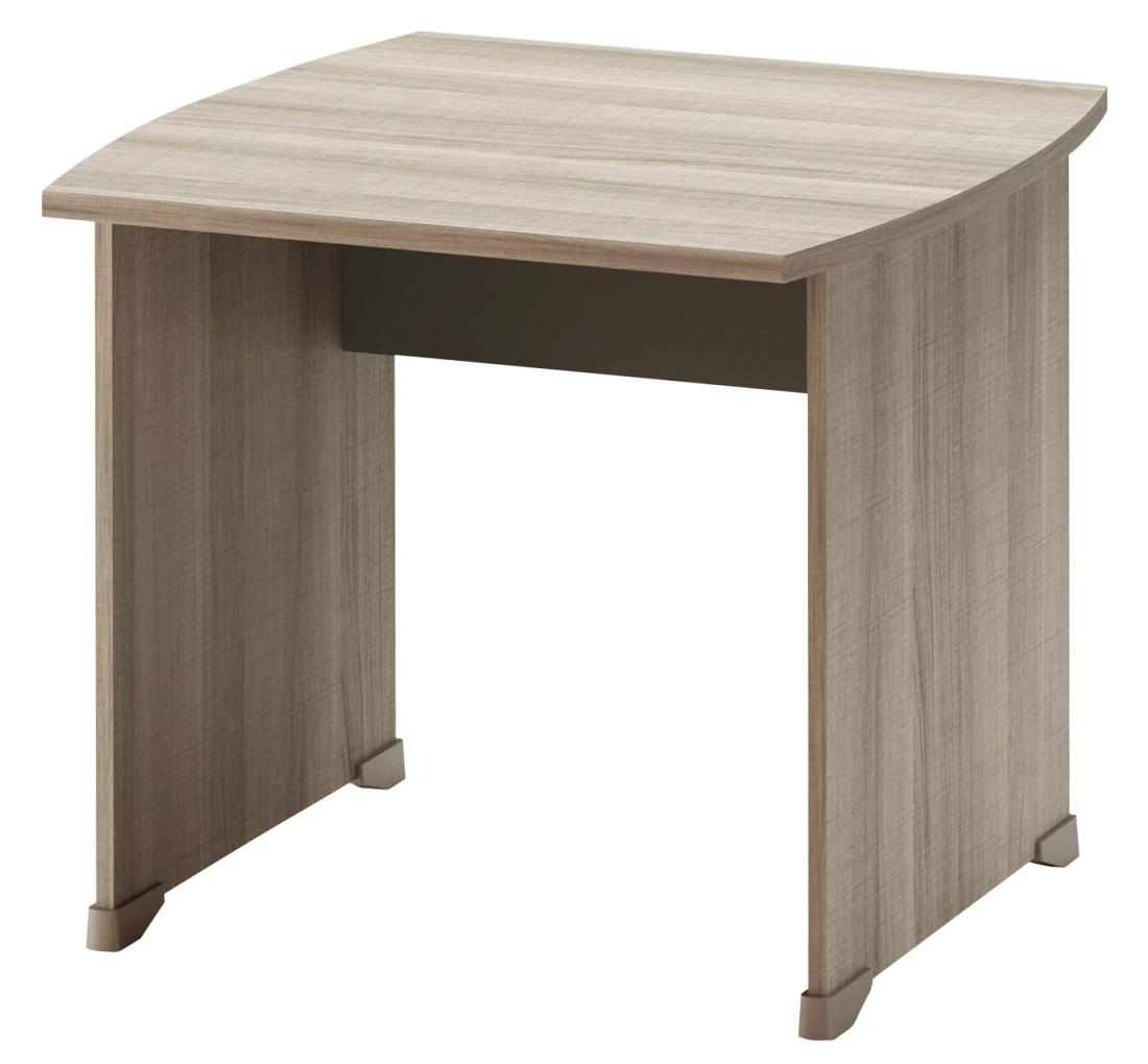 Bureau Jazz 80 cm breed in grijs eiken   Gamillo Furniture
