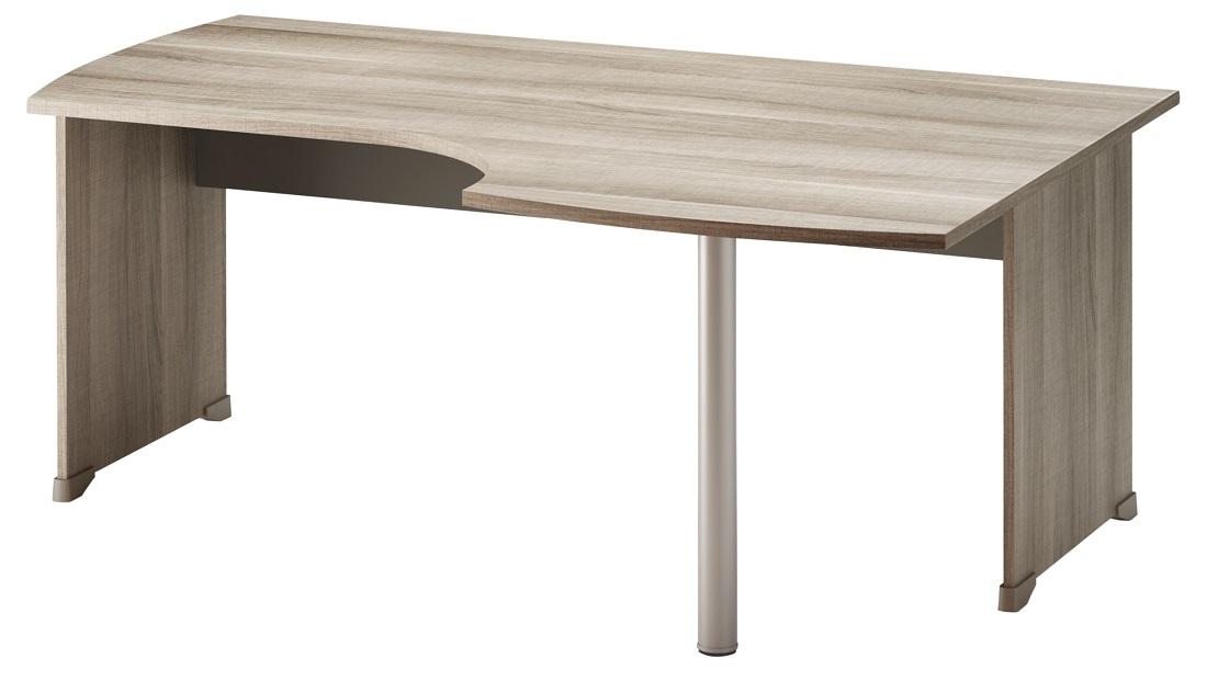 Bureau Jazz Rechts 180 cm breed in grijs eiken | Gamillo Furniture