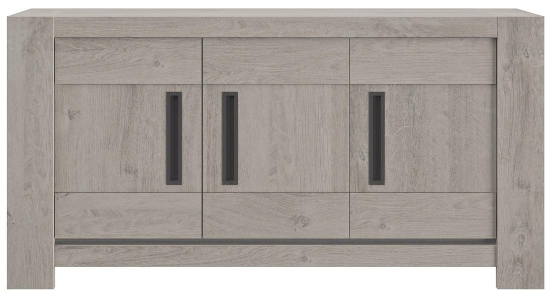 Dressoir Boston 173 cm breed in licht grijs eiken | Gamillo Furniture