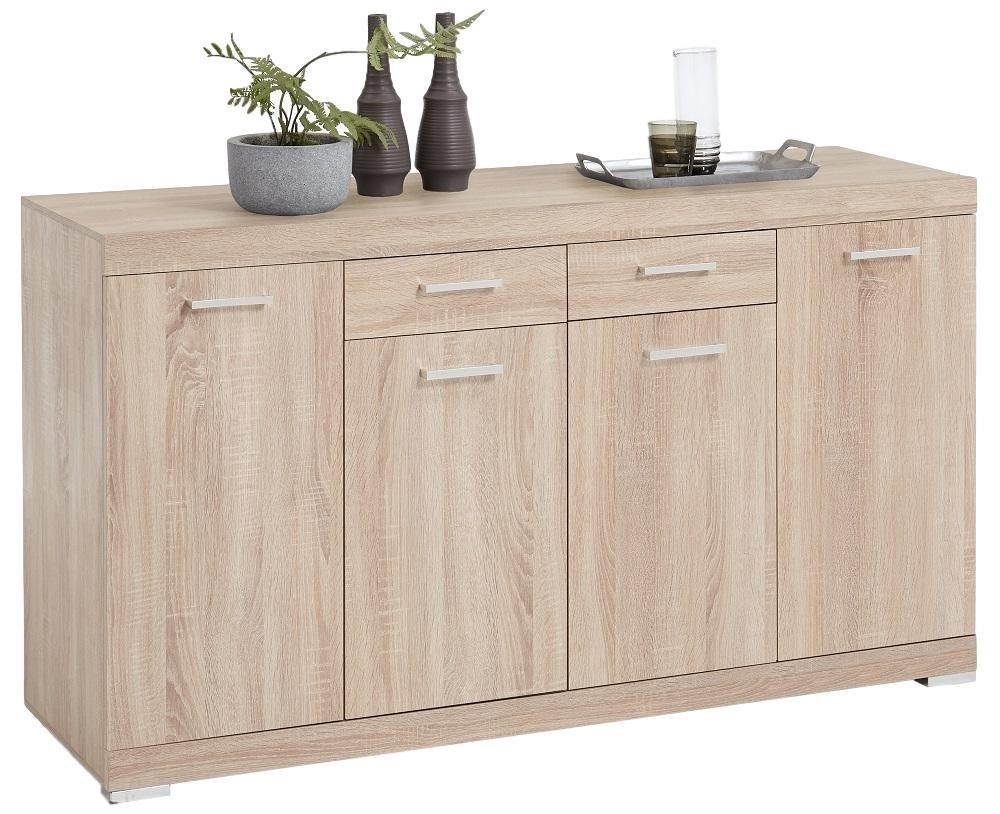 Dressoir Bristol 4 XL van 160 cm breed in eiken | FD Furniture