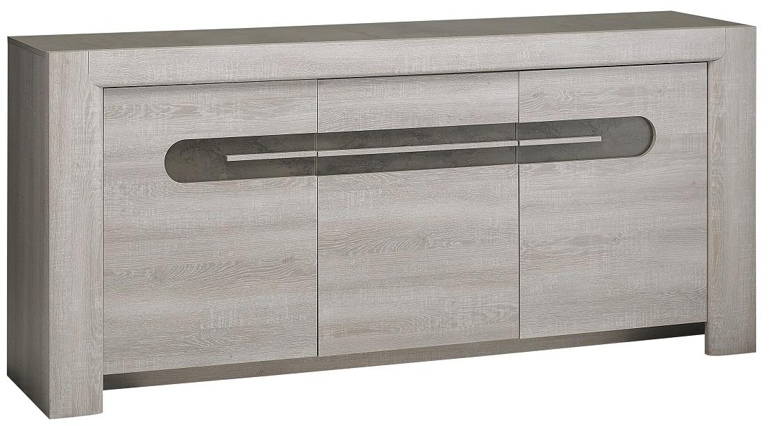 Dressoir Sandro 190 cm breed in licht grijs licht grijs | Gamillo Furniture