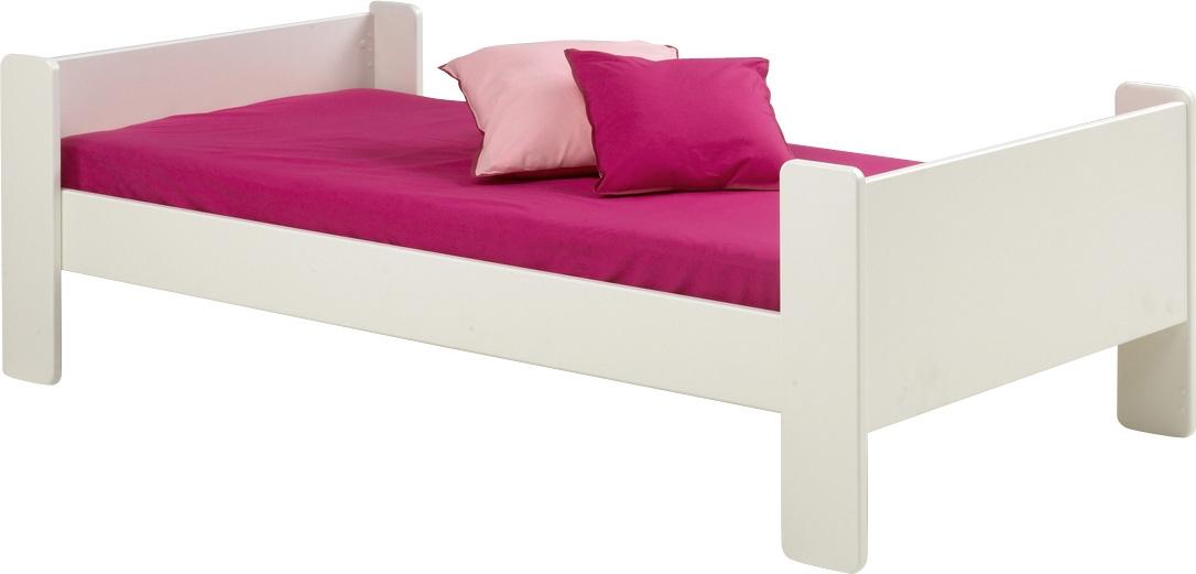 Eenpersoonsbed Kids 90x200cm in wit | DS Style