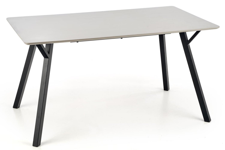 Eettafel Balrog 140 cm breed in grijs | Home Style
