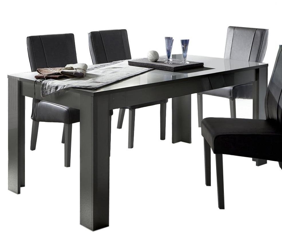 Eettafel Dama 180 cm breed – Hoogglans grijs | Pesaro Mobilia