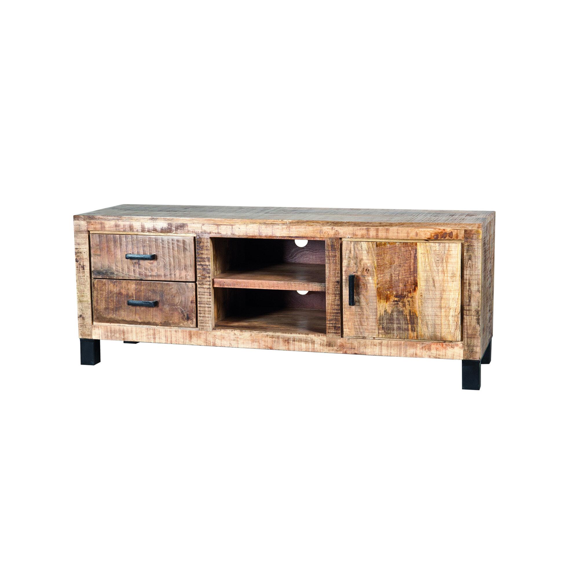 Eleonora Tv-meubel 'Iron XL Industrieel' 150 cm   Eleonora