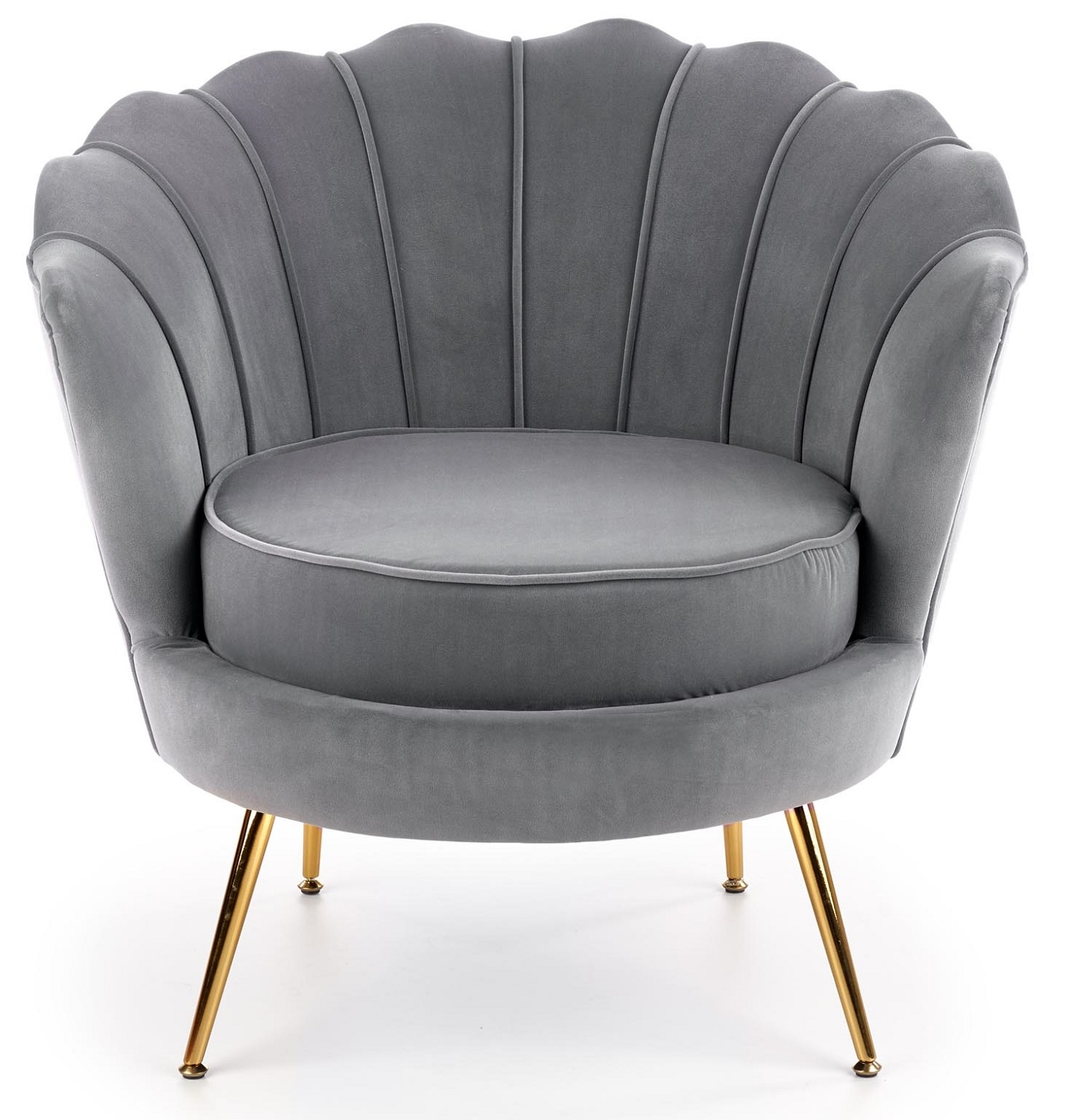 Fauteuil Amorinito 83 cm breed in grijs | Home Style