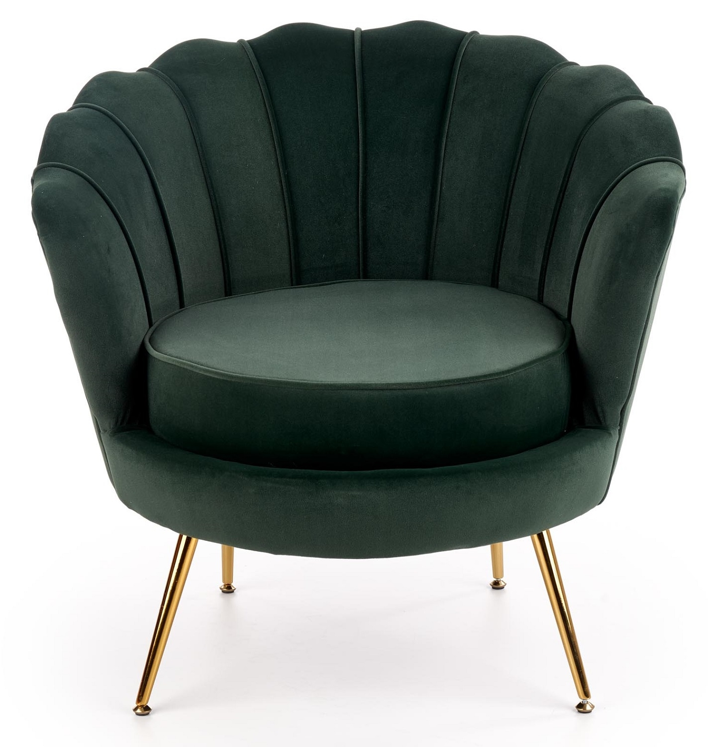 Fauteuil Amorinito 83 cm breed in groen | Home Style