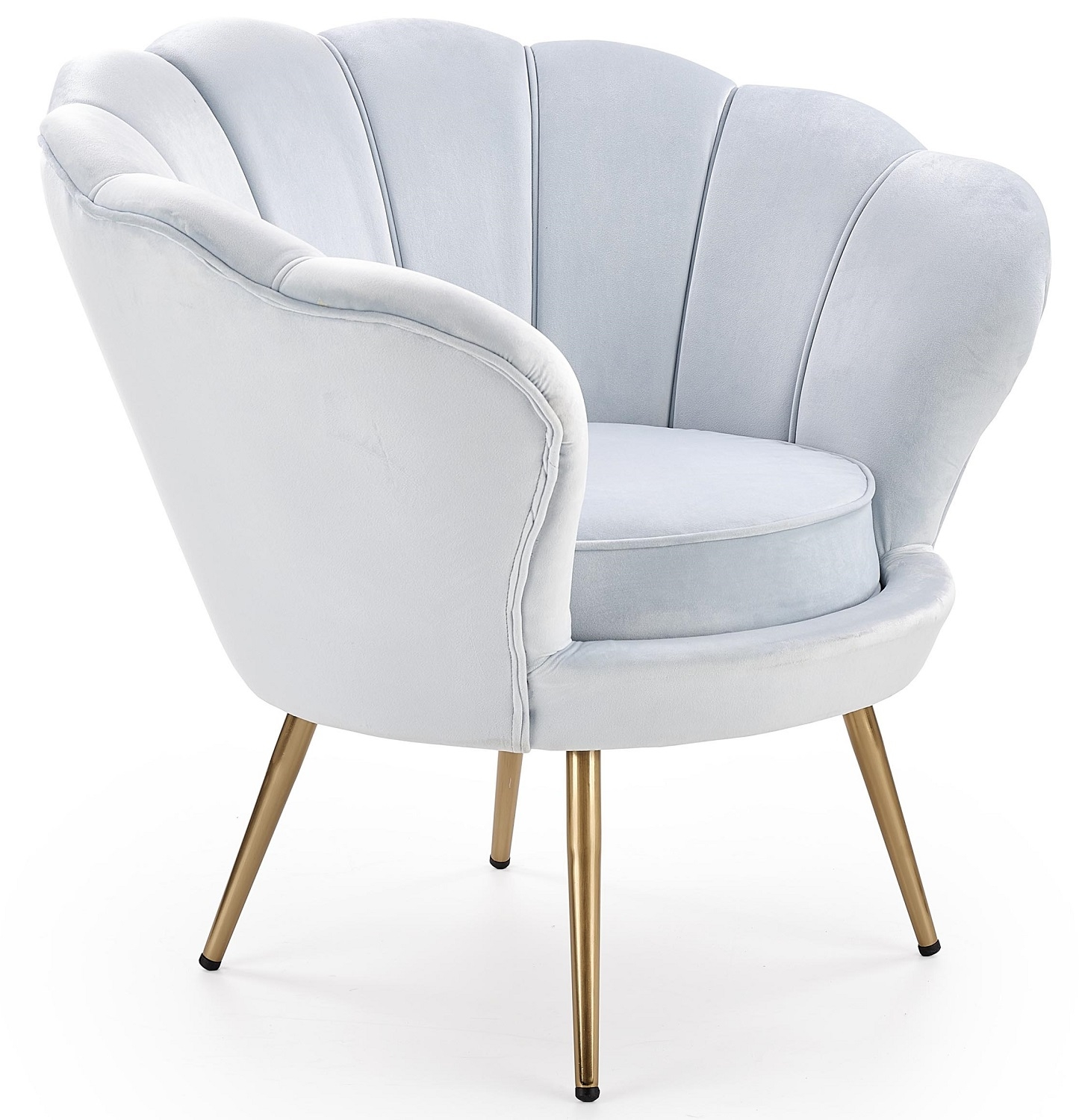 Fauteuil Amorino in lichtblauw   Home Style