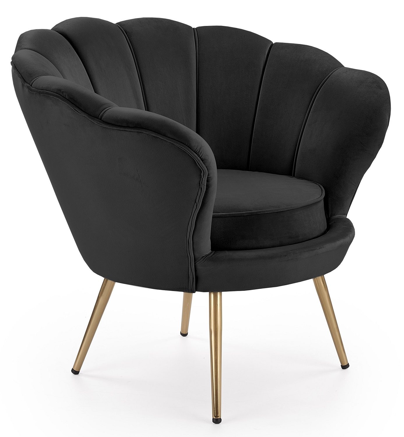 Fauteuil Amorino in zwart | Home Style