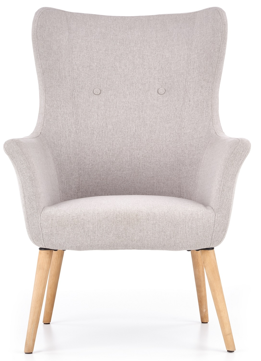Fauteuil Cotto in lichtgrijs | Home Style