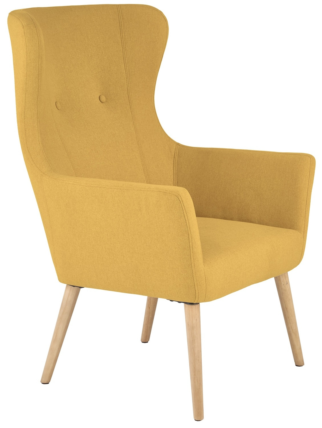 Fauteuil Cotto in mosterd geel | Home Style
