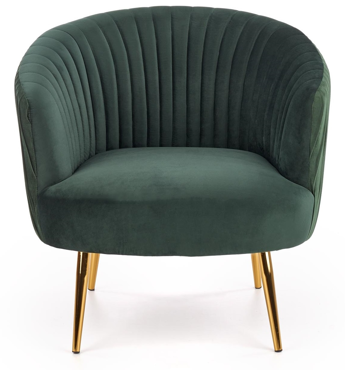 Fauteuil Crown in groen | Home Style