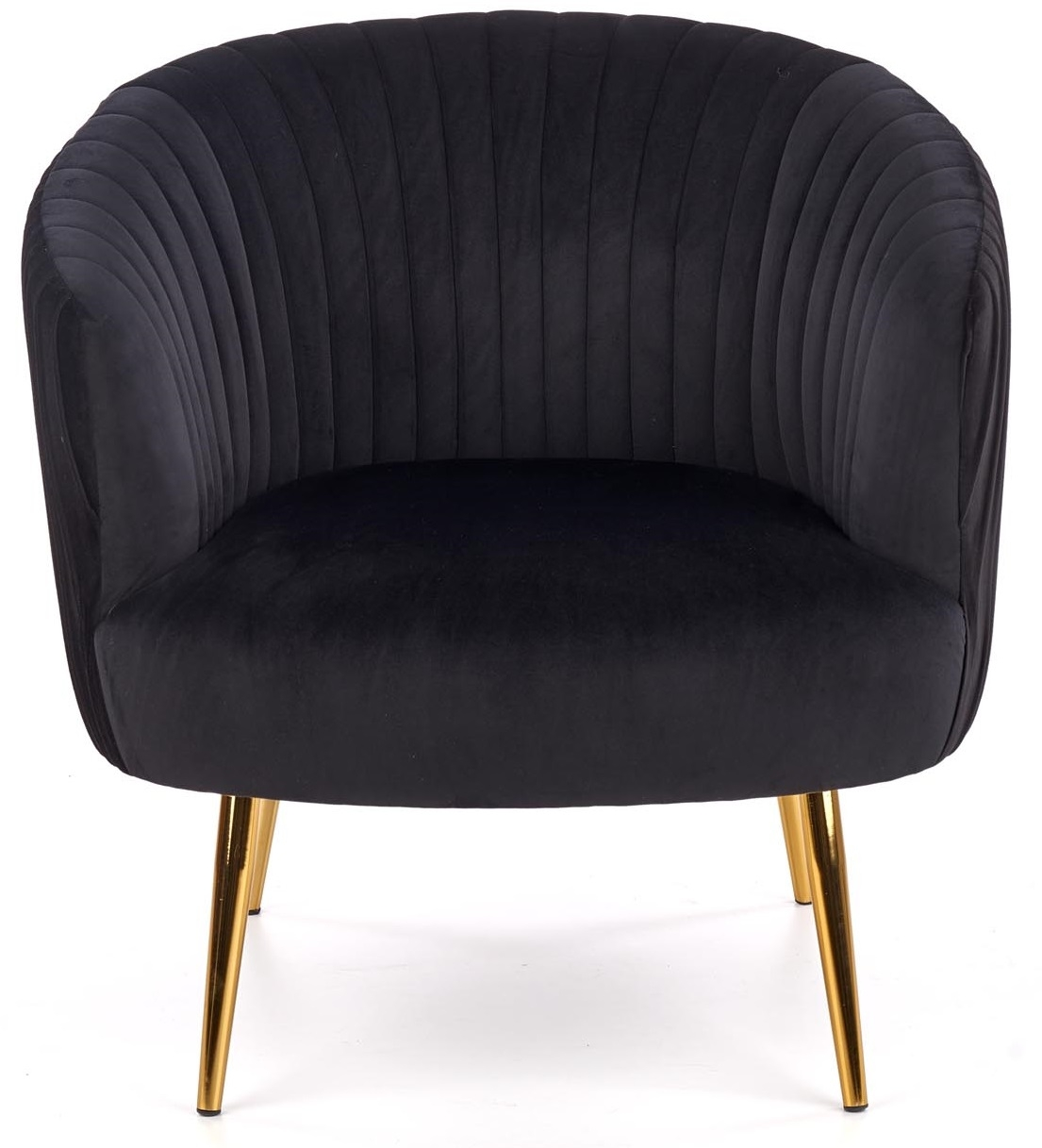 Fauteuil Crown in zwart | Home Style