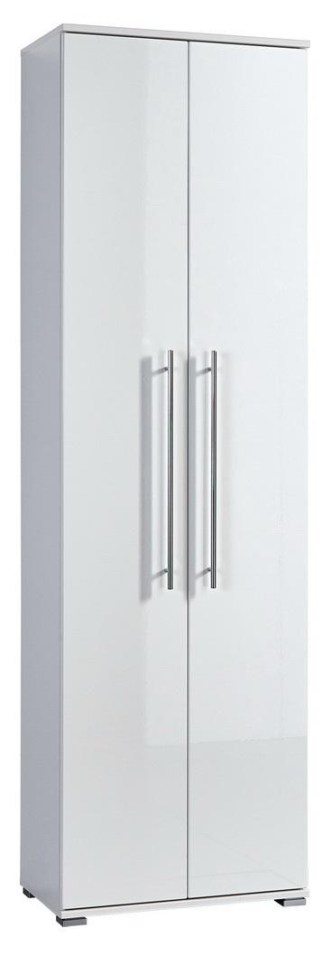 Halkast Indoor 198 cm hoog in wit met hoogglans Wit | Germania