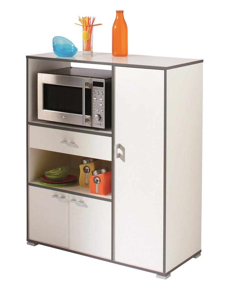 Keukenkast Buzz 112 cm hoog in wit | Young Furniture
