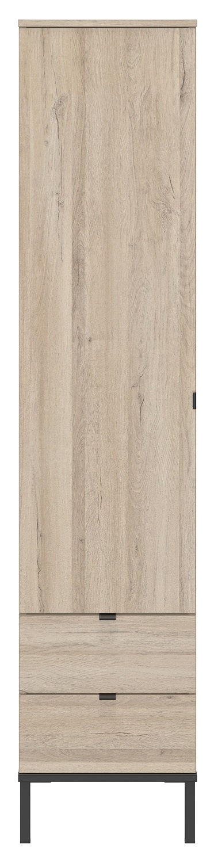 Kledingkast Castel 44 cm breed in kronberg eiken | Gamillo Furniture