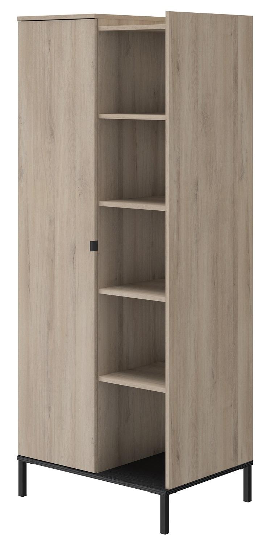 Kledingkast Castel 80 cm breed in kronberg eiken | Gamillo Furniture
