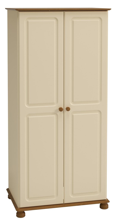 Kledingkast Rich B 185 cm hoog in creme | DS Style