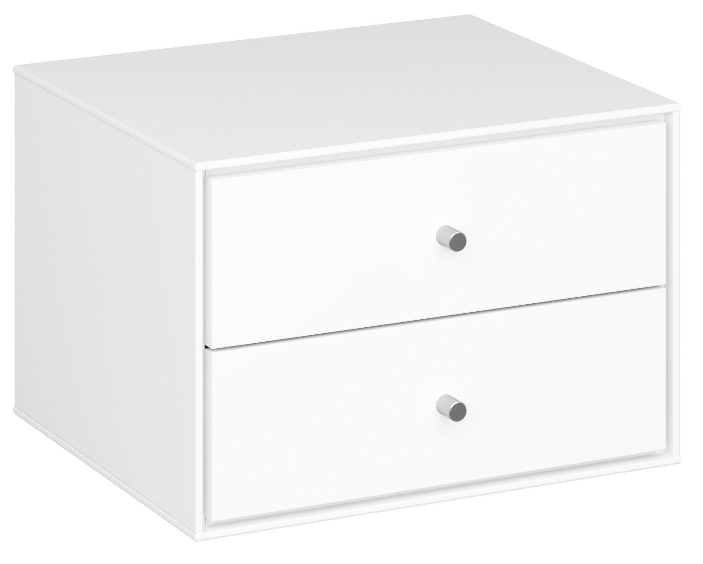 Nachtkastje Maga 28 cm hoog in wit | DS Style