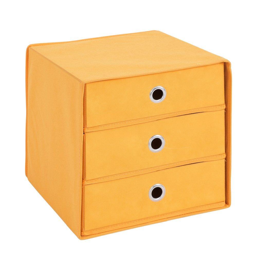 Opbergbox Mega Trio in oranje | FD Furniture