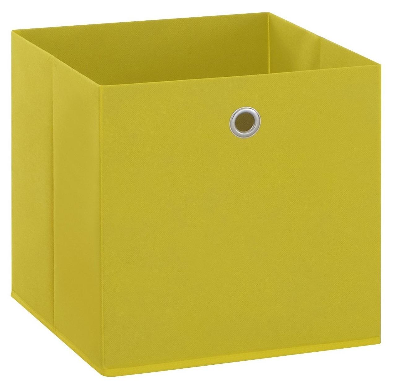 Opbergbox Mega in geel | FD Furniture