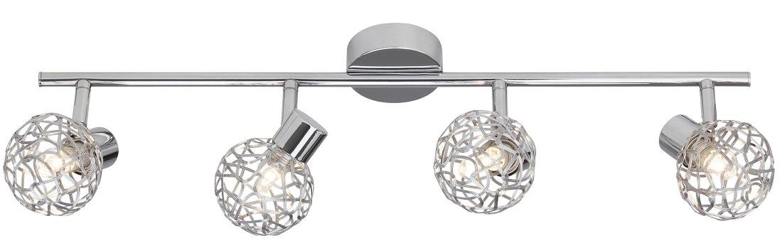 Plafondlamp Linda 4xG9 max 33W in chroom | Brilliant