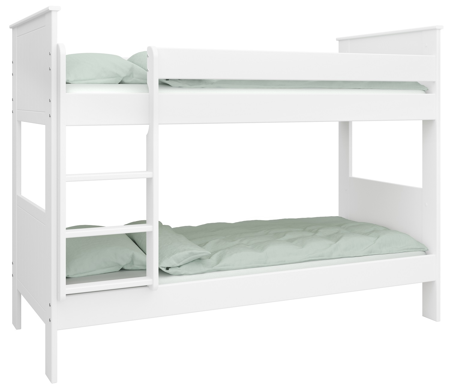 Stapelbed Alba M 90x200cm breed in wit | DS Style